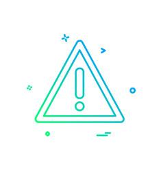 error icon design vector image