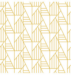 geometric art deco elegant seamless pattern vector image