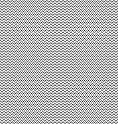 Simple seamless wavy line pattern vector image