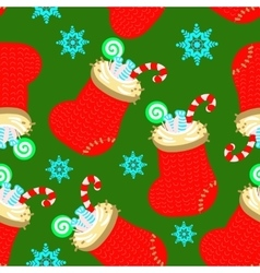 socks pattern vector image