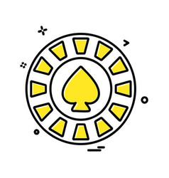 spade icon design vector image