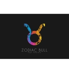 Zodiac lion logo lion symbol logo vector