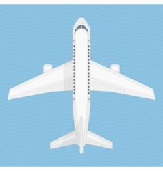 airplane in air vector image