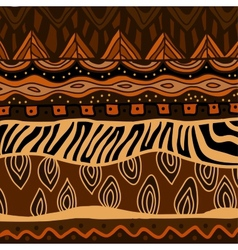 Background with ethnic ornament vector