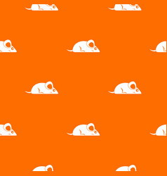 pet mouse pattern seamless vector image