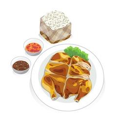 Roast chicken1 vector