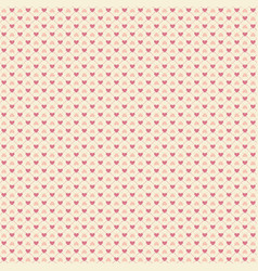 seamless geometric pattern with hearts repeating vector image