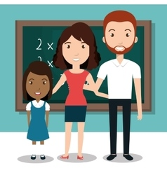 Student school teacher icon vector