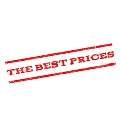 The best prices watermark stamp vector