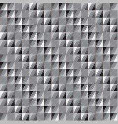 Abstract seamless pattern of monochrome squares vector