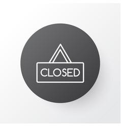 hanging board icon symbol premium quality vector image