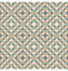 seamless pattern with diamond design vector image