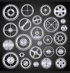 Pinions mechanisms vector