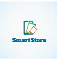 SmartStore vector image vector image