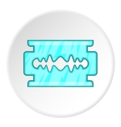 Blade icon cartoon style vector