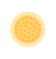 chip cookie icon vector image
