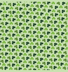 Exotic clovers plants with leaves background vector
