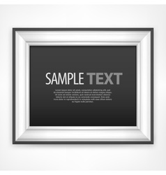 Frame text vector