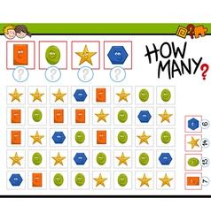 Preschool counting activity vector