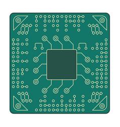 Processor microarchitecture platform accessories vector