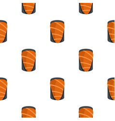 Salmon pattern seamless vector