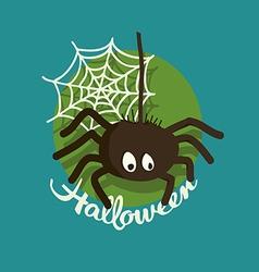 Spider Halloween vector