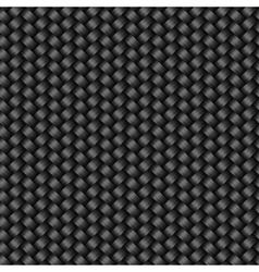 Carbon fiber texture seamless pattern vector image