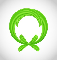 Eco friendly icon isolated vector image vector image