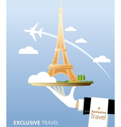 Exclusive France vector image vector image