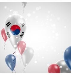 Flag of the Republic of Korea vector image vector image