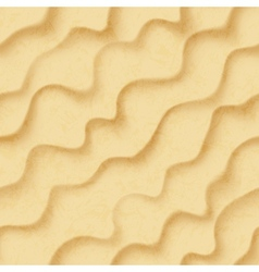 Sandy background seamless vector image vector image