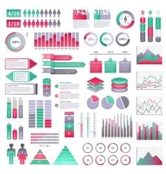 Infographics elements set vector image