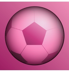 stylish conceptual digital soccer design vector image