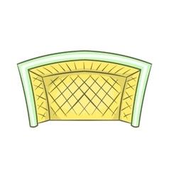 Football goal icon cartoon style vector image