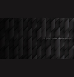 3d parallelograms simple dark gray abstract vector