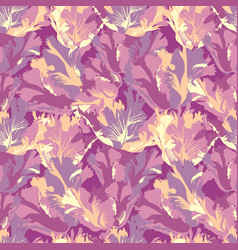 abstract flower petal seamless pattern textured vector image