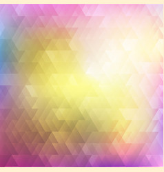 abstract geometric background colorful mosaic vector image