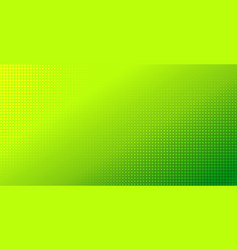 abstract green gradient halftone background vector image