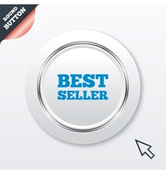 Best seller sign icon Best seller award symbol vector image