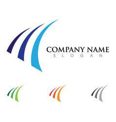 Business finance professional logo vector