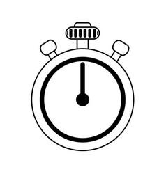Chronometer flat vector