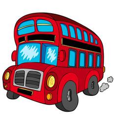 Doubledecker bus vector