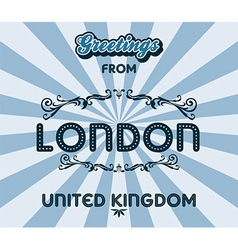 England design vector image