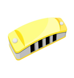 Icon harmonica vector