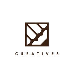 pencil logo design vector image