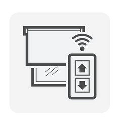 smart home icon vector image