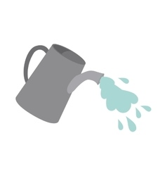 watering can design vector image