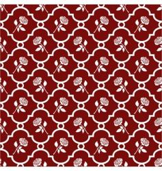 roses wallpaper vector image vector image