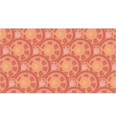 grapefruit pattern vector image vector image