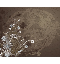 japanese grunge background vector image vector image